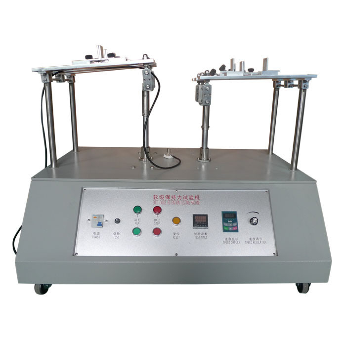 IEC60884 Figure 20 Six Workstation Flexible Cable Cord Retention Force Test Apparatus
